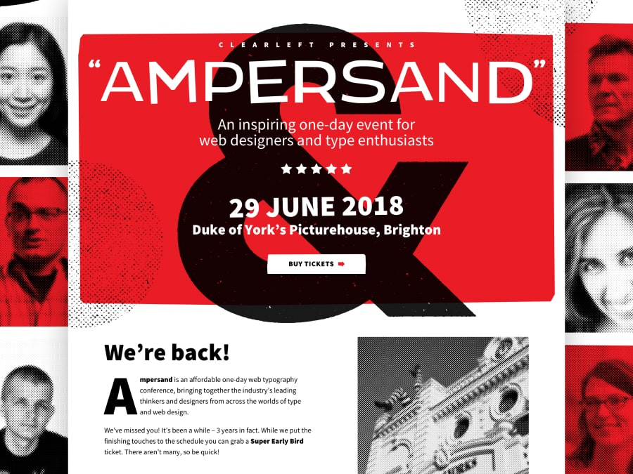 Ampersand typography conference 2018